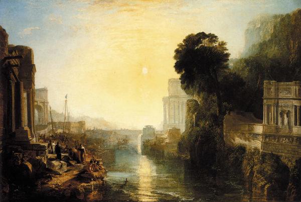 Gemaelde zeigt Karthago