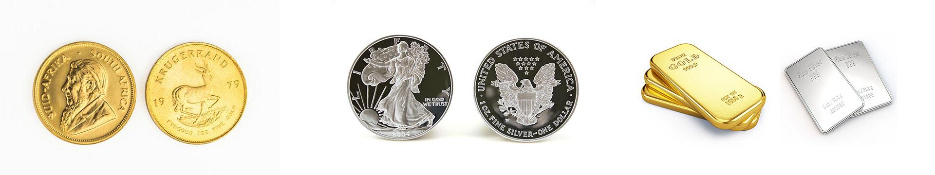Gold & Silber Münzen - Juwelier Weiss Münzen Ankauf