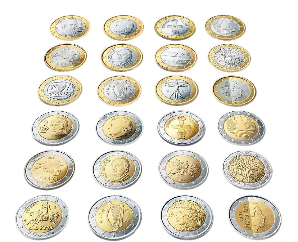 Europäische Sammlermünzen ECU