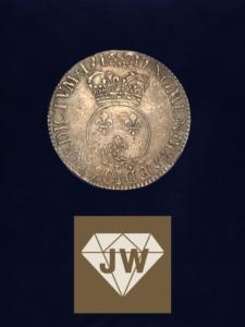Französische historische Münze