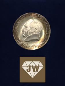 Münze Johann Wolfgang von Goethe 1749-1832