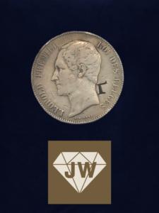 Münze Leopold Premier