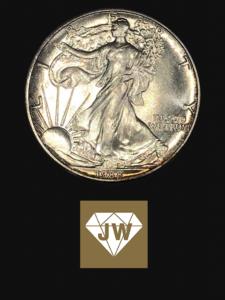 Liberty Münze 1988