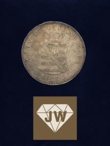Münze 1825 zehn eine feine Mark