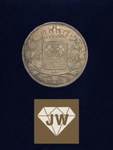 Münze 1830 fünf France