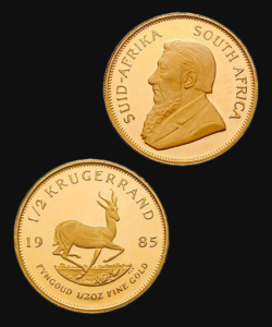 Goldmünze Krügerrand 1985