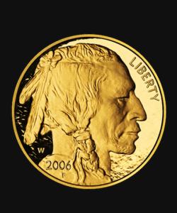 Goldmünze Liberty 2006