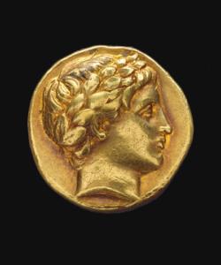 Goldmünze Antik 2