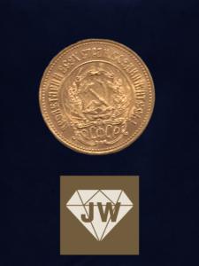 1976 russische Goldmünze