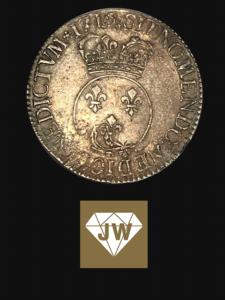 Historische spanische Münze 1716