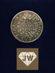 Fünf_France_A_1873_Liberte_Egalite_Frateranite