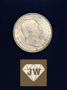 Fünf_Mark_B_Deutsches_Reich_1907_Wilhelm_II_König_von Württenberg
