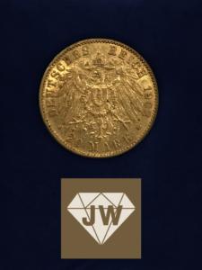 Zwanzig_Mark_B_Deutsches_Reich_1903_Wilhelm_II_Deutscher_Kaiser_König_von_Preussen
