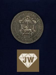 Deutsche ostafrikanische Gesellschaft Guilelmus II Imperator 1901 B
