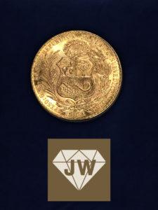 Republica Peruana Lima Cien Soles Oro 1964