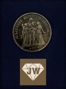 Fünf Francs 1873 B