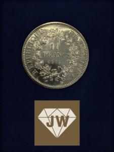 Zehn Francs 1972 A
