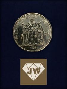 Zehn Francs 1972 B